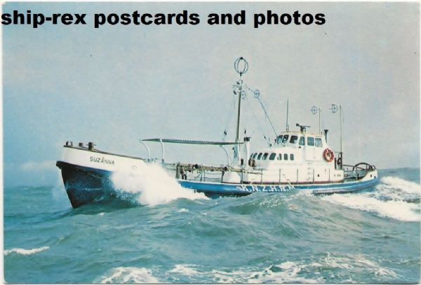 SUZANNA (Dutch lifeboat) postcard